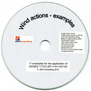 Wind Actions Examples CD-ROM